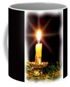 Weihnachtskerze - Christmas Candle Coffee Mug
