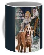 Weimaraner Art Canvas Print - A Streetcar Named Desire Movie Poster Coffee Mug