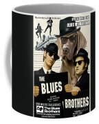 Weimaraner Art Canvas Print - The Blues Brothers Movie Poster Coffee Mug