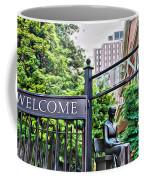 Welcome Friends Coffee Mug