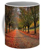 Welcome Home Bradford Pear Lined Drive-way Coffee Mug