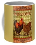 Welcome Rooster-61412 Coffee Mug