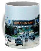 Welcome To New Jersey Coffee Mug
