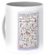 'welcome To The Universe In A Grain Of Sand' Coffee Mug