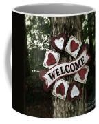 Welcome With Love Coffee Mug