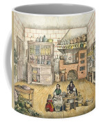 Well Stocked Rustic Kitchen Coffee Mug
