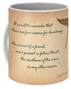 Well To Remember Coffee Mug by Elaine Plesser