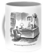 We'll Widen The Clogged Artery By Inserting Coffee Mug