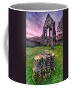 Welsh Abbey  Coffee Mug by Adrian Evans