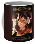 Welsh Corgi Cardigan Art Canvas Print - Gone With The Wind Movie Poster Coffee Mug