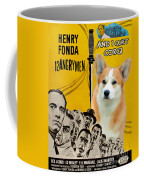 Welsh Corgi Pembroke Art Canvas Print - 12 Angry Men Movie Poster Coffee Mug