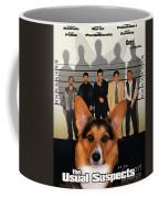 Welsh Corgi Pembroke Art Canvas Print - The Usual Suspects Movie Poster Coffee Mug