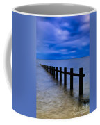 Welsh Seascape Coffee Mug by Adrian Evans