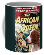 Welsh Springer Spaniel Art Canvas Print - The African Queen Movie Poster Coffee Mug