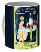Welsh Springer Spaniel Art Canvas Print - The Seven Year Itch Movie Poster Coffee Mug