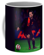 Wesley Sneijder  Coffee Mug by Paul Meijering