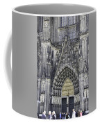 West Entrance Door Cologne Cathedral Coffee Mug