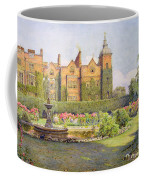 West Front And Gardens Of Hatfield Coffee Mug