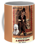 West Highland White Terrier Art Canvas Print - A Dogs Life Movie Poster Coffee Mug