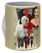 West Highland White Terrier Art Canvas Print - All About Eve Movie Poster Coffee Mug