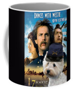 West Highland White Terrier Art Canvas Print - Dances With Wolves Movie Poster Coffee Mug