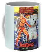 West Highland White Terrier Art Canvas Print - Spartacus Movie Poster Coffee Mug