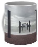 West Pier Skeleton In Brighton Coffee Mug