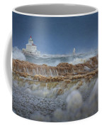 West Pierhead In Ice Coffee Mug