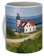 West Quaddy Lighthouse Coffee Mug