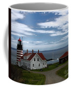 West Quoddy Lighthouse Coffee Mug