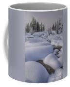West Thumb Snow Pillows II Coffee Mug