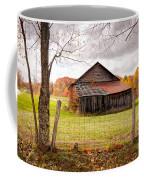 West Virginia Barn In Fall Coffee Mug