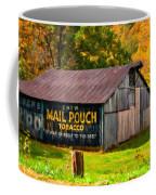 West Virginia Barn Oil Coffee Mug