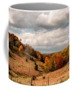 West Virginia Rural Landscape Fall Coffee Mug