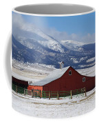 Westcliffe Landmark - The Red Barn Coffee Mug