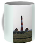 Westerhebersand Lighthouse  I- North Sea - Germany Coffee Mug