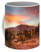 Western Barn At Sunset II Coffee Mug