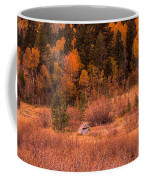 Western Barn At Sunset Iv Coffee Mug