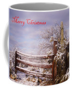 Western Christmas Coffee Mug