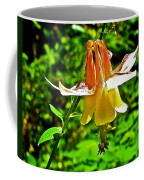 Western Columbine Along Wapta Falls Trail In Yoho National Park-british Columbia Coffee Mug