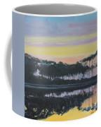 Western Lake Sunrise Coffee Mug