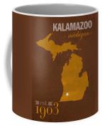 Western Michigan University Broncos Kalamazoo Mi College Town State Map Poster Series No 126 Coffee Mug