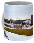 Western New York Farm As An Oil Painting Coffee Mug