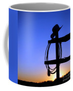 Western Sunset Coffee Mug by Olivier Le Queinec