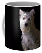 Westie Drama Coffee Mug by Edward Fielding