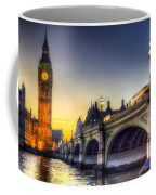 Westminster Bridge And Big Ben Coffee Mug