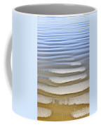 Wet Sand Texture On Ocean Shore Coffee Mug
