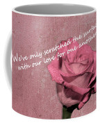 We've Only Scratched The Surface Valentine Coffee Mug