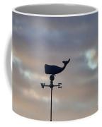 Whale Weather Vane Coffee Mug