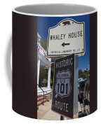 Whaley House Us Hwy 101 Historic Route Coffee Mug